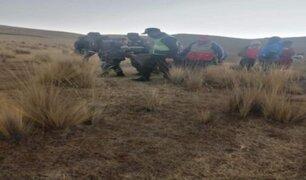 Anciano que trataba de sofocar incendio forestal perdió la vida en Cusco