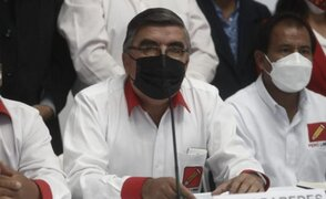 Recolección de firmas de Bermejo no cuenta con respaldo de bancada de Perú Libre
