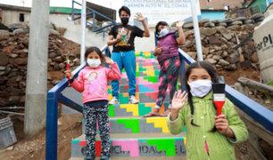Bicentenario del Perú: artistas urbanos pintarán murales en Comas, San Juan de Lurigancho y Ate