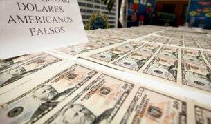 Cae presunto integrante de banda criminal con 5 millones de dólares falsos