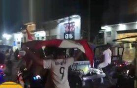 Perú pasa a la semifinal de la Copa América y así lo celebran al interior del país