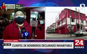 Pueblo Libre: vecinos realizan vigilia para reubicación de Bomberos