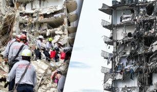 EEUU: Aumenta a 22 el número de víctimas mortales tras desplome de edificio en Florida