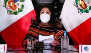 Violeta Bermúdez respondió tras calificativos de Keiko Fujimori hacia el presidente Sagasti