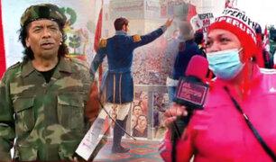 El Reto del Bicentenario llegó a las marchas en las calles de Lima