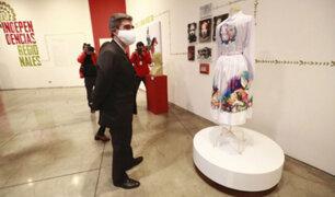 LUM: Ministro Alejandro Neyra inaugura exposición en el marco del Bicentenario del Perú