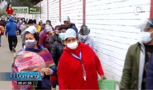 Minsa anuncia apertura de centros de vacunación covid-19 para disminuir largas colas