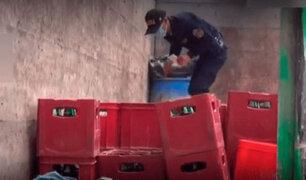 Cajamarca: incautan más de 200 cajas con cervezas adulteradas listas para ser distribuidas