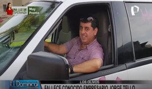 Los Olivos: conocido empresario de discotecas y hoteles muere en extrañas circunstancias