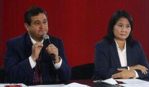 """Castiglioni sobre rechazo de auditoría: """"Se puede presentar una acusación constitucional contra Sagasti"""""""