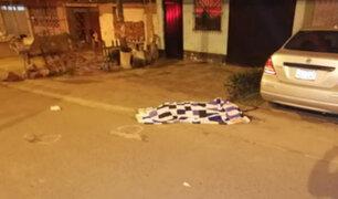 Mujer que se dedicaba a la prostitución fue asesinada de varios disparos en Surco