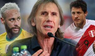 """Ricardo Gareca: """"Tengo fe que podemos hacer  un buen partido frente a Brasil"""""""