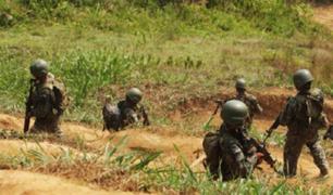 Fuerzas Armadas y la Policía Nacional destruyen campamentos terroristas en el Vraem