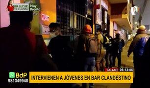 Intervienen a 120 personas en fiesta COVID-19 en local del Cercado de Lima