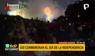 EEUU reanuda celebraciones por su Independencia tras avances en la vacunación