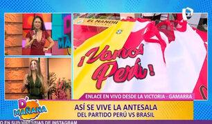 ¡Atención fanáticos! Gamarra ofrece productos para el Perú vs. Brasil a precios de infarto