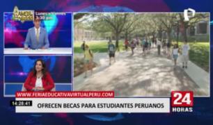Conozca más sobre las becas que estarán ofreciendo a estudiantes peruanos