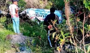 Cajamarca: un policía muerto y otro herido deja despiste y volcadura de patrullero