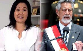 """Keiko Fujimori responde a Sagasti: """"Cuando hay dudas, el árbitro acude al VAR"""""""