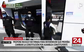Lucas Ghersi y juristas promueven referéndum para impedir nuevas constituciones