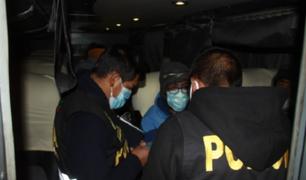 Pasco: realizan operativo sobre trata de personas en terminal de Chaupimarca