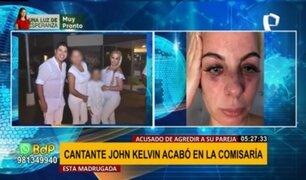 John Kelvin es detenido tras ser acusado de agredir físicamente a la madre de sus hijos