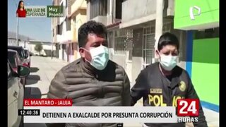 Junín: Policía interviene a exalcalde de Mantaro por malversación de fondos