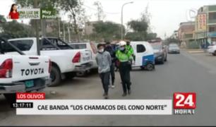 Capturan a raqueteros que operaban en distritos de Lima Norte