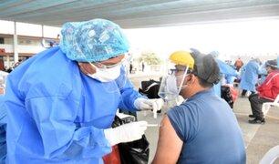 Ventanilla: docentes de zonas rurales comenzaron a ser inmunizados contra COVID-19