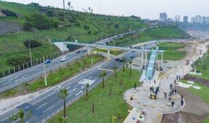Costa Verde: más de 149 mil vecinos serán beneficiados tras entrega de puentes peatonales