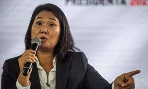 """Keiko Fujimori: """"Seremos un muro de contención frente a amenaza de nueva Constitución"""""""