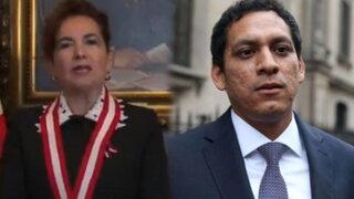 """Presidenta de PJ sobre declaraciones de Valdez: """"Rechazo tajantemente la información falsa vertida"""""""