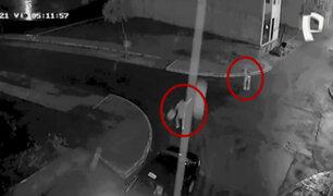 Carabayllo: delincuente dispara a joven por robarle su celular