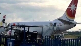 Iquitos: pasajero convulsiona, se desvanece y muere dentro de avión