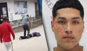 VES: sujeto acuchilla a su vecino en la urbanización Pachacámac