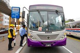 ATU anuncia que Corredor Morado desviará su ruta debido a manifestación