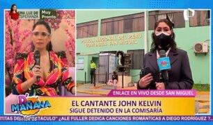 John Kelvin: denuncia por violación sexual ampliaría detención del cantante