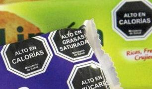 Octógonos: no colocar etiquetas impresas en productos será sancionado con más de S/ 3 millones