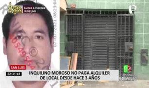 San Luis: inquilino moroso no paga alquiler de local desde hace dos años