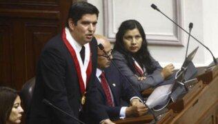 Congreso: Luis Roel solicitó que Mesa Directiva pague su defensa y asesoría
