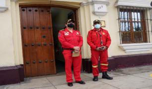 Pedirán reubicación de Bomberos de Pueblo Libre en Cuartel Bolivar de forma temporal