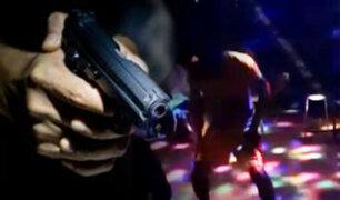 Obrero es asesinado de 10 balazos al interior de un bar en Piura