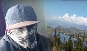 Rescatan a turistas extraviados en Huaraz