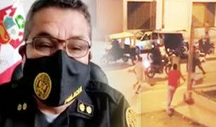 Tumbes: denuncian a grupo de venezolanos por agredir a policías durante intervención