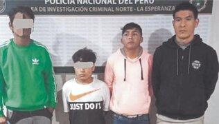 Trujillo: 'Los secos' caen por secuestro en La Esperanza