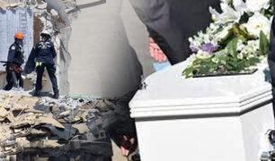 Comienzan los funerales por las víctimas del derrumbe de un edificio en Florida