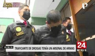 Operaba en el Callao: detienen a sujeto que enviaba droga al extranjero