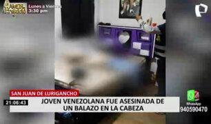 SJL: vecinos afirmaron escuchar gritos antes del asesinato de venezolana en su departamento