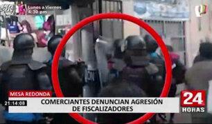 Mesa Redonda: comerciantes denuncian constantes agresiones de fiscalizadores de MML