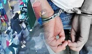 Policía frustró el robo a un grifo en SJL